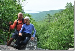Bill and Nancy on Gorge Path