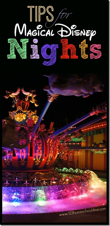 Tips for Magical Nights at Disney World