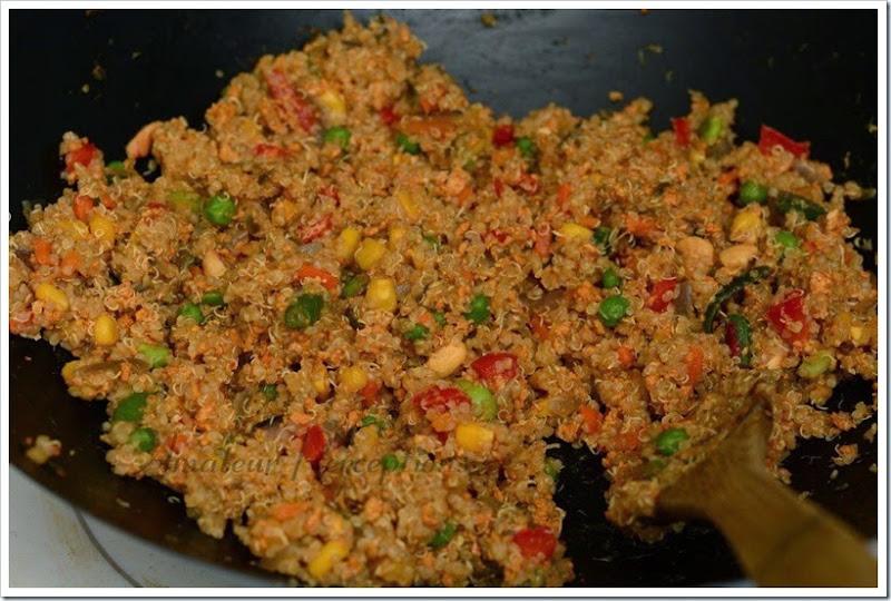 Quinoa Pulav 1
