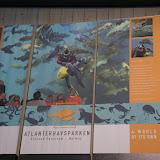 Het aquarium van Alesund.