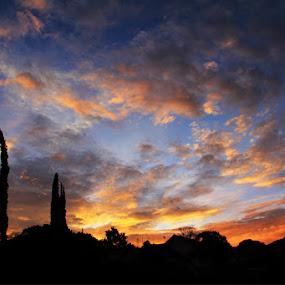 Sunrise at Pacet by Joseph Basukarno - Landscapes Sunsets & Sunrises ( canon, mountain, sunrise, landscape )