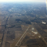 Flight home from Sandusky, OH - 02202012 - 05