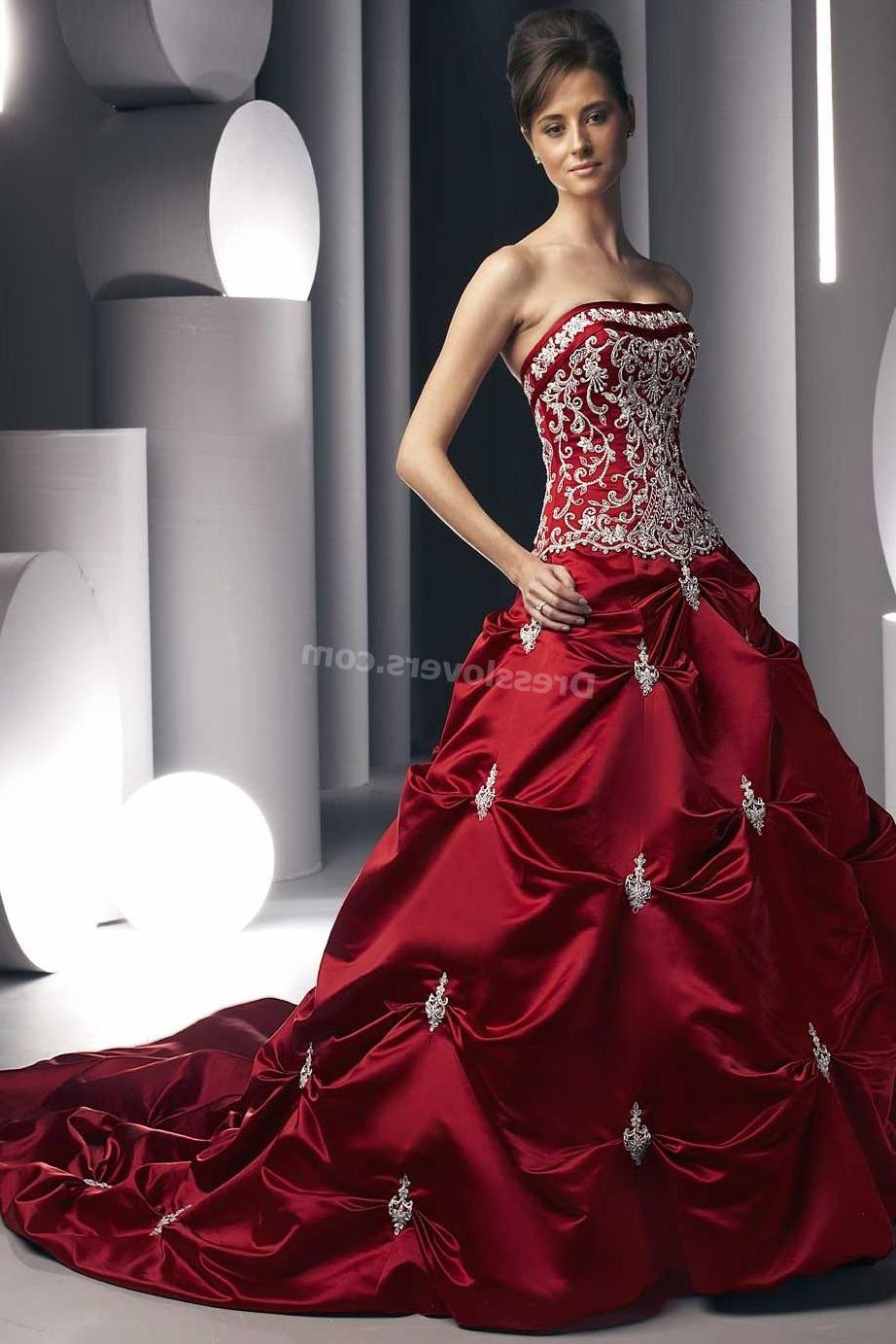Red Wedding Dress with