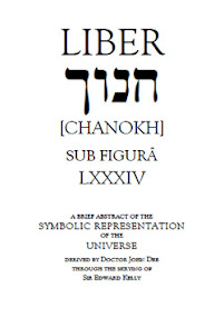 Cover of John Dee's Book Liber LXXXIV Chanokh