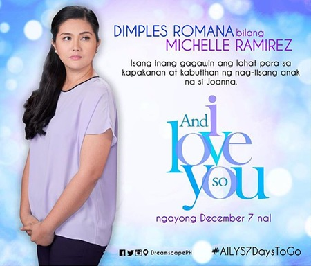 And I Love You So - Dimples Romana as Michelle Ramirez