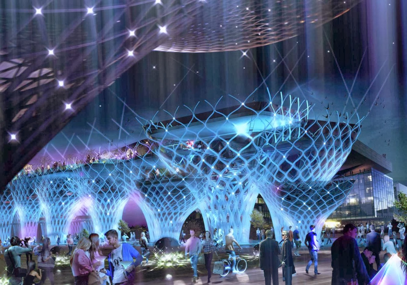 Iran Pavilion Expo 2015 by New Wave Architecture