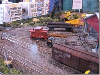 IMG_0941 Northwest Railway Museum HO-Scale Diorama at the WGH Show in Puyallup, Washington on November 21, 2009