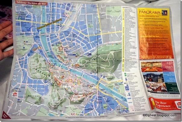 Elpheal aka Kaika Review Sommerhostel Salzburg Hostel – Salzburg Tourist Map