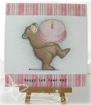 Happy 1st Bear-day