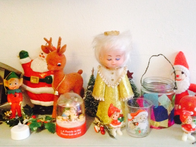 Pica Pica Vintage: Merry Kitschmas - my vintage Christmas ...