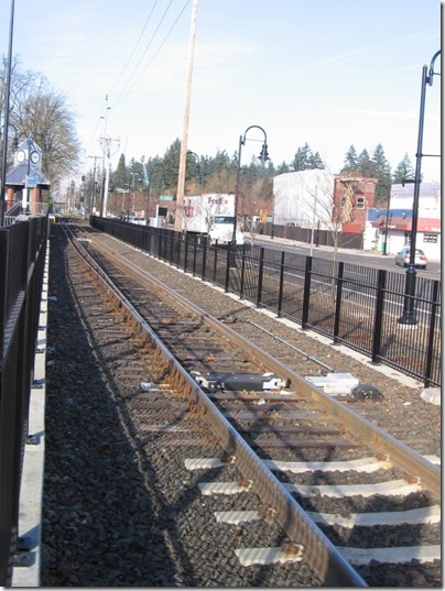 IMG_5069 Gauntlet Track at TriMet Westside Express Service Station in Tualatin, Oregon on January 15, 2009
