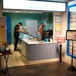 stu in tokyo at the ice cream parlor in Ikebukuro, Tokyo, Japan