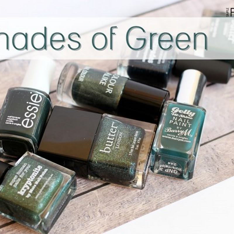 [Blogparade] 7 Shades of … Green!