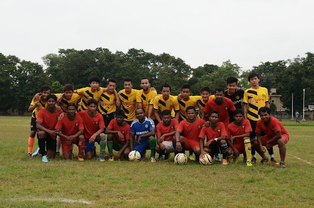 Gorkha Boys football tead that Won Handsomely at Shantiniketan