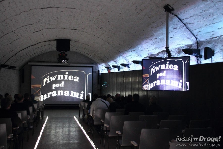 Kopalnia Guido w Zabrzu - podziemne kino na poziomie 320