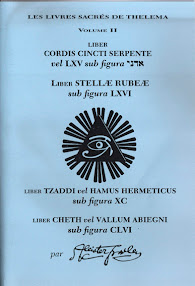 Cover of Aleister Crowley's Book Liber 066 Stellae Rubeae