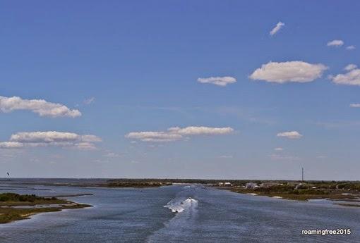 Crossing over the Intercoastal Waterway