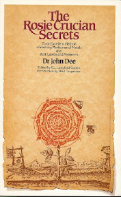 Cover of John Dee's Book The Rosie Crucian Secrets