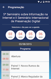 IBICT Eventos - screenshot