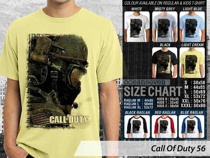 KAOS cod Call Of Duty 56 Game Series distro ocean seven