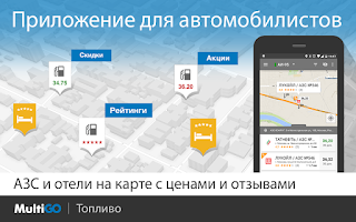 Screenshot of MultiGO Топливо