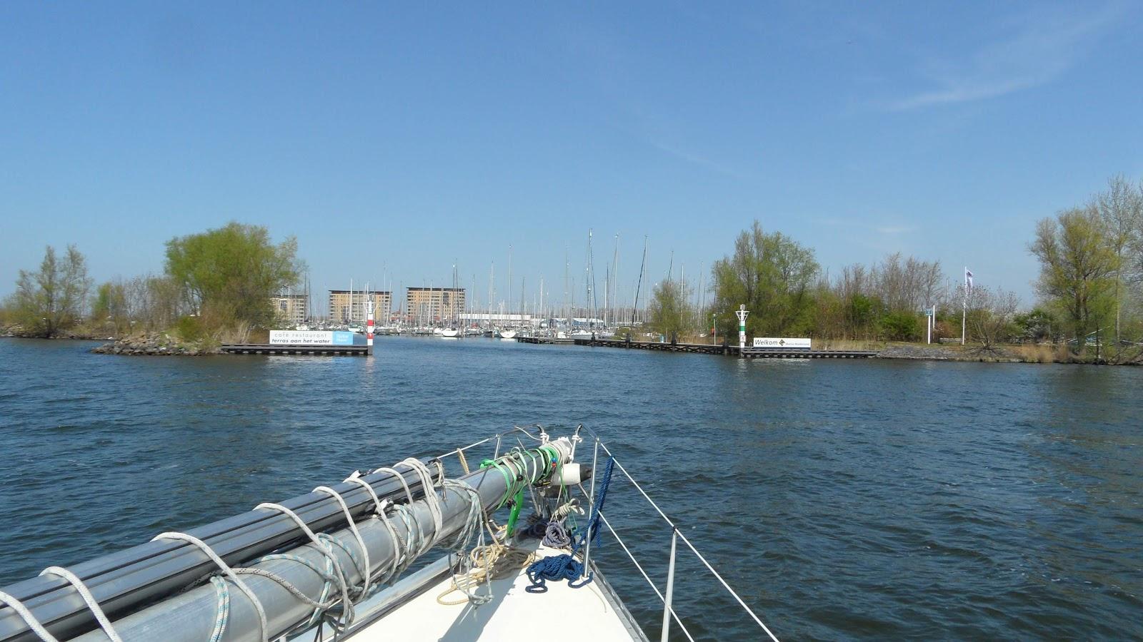 das Ziel vor Augen - Hafen Muiderzand