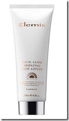 Elemis Total Glow bronzing body lotion