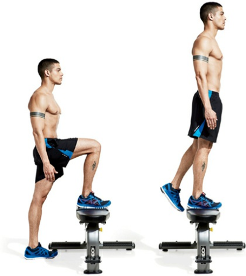 Rep 3 in 1 Wood Plyometric Box for Jump Training and