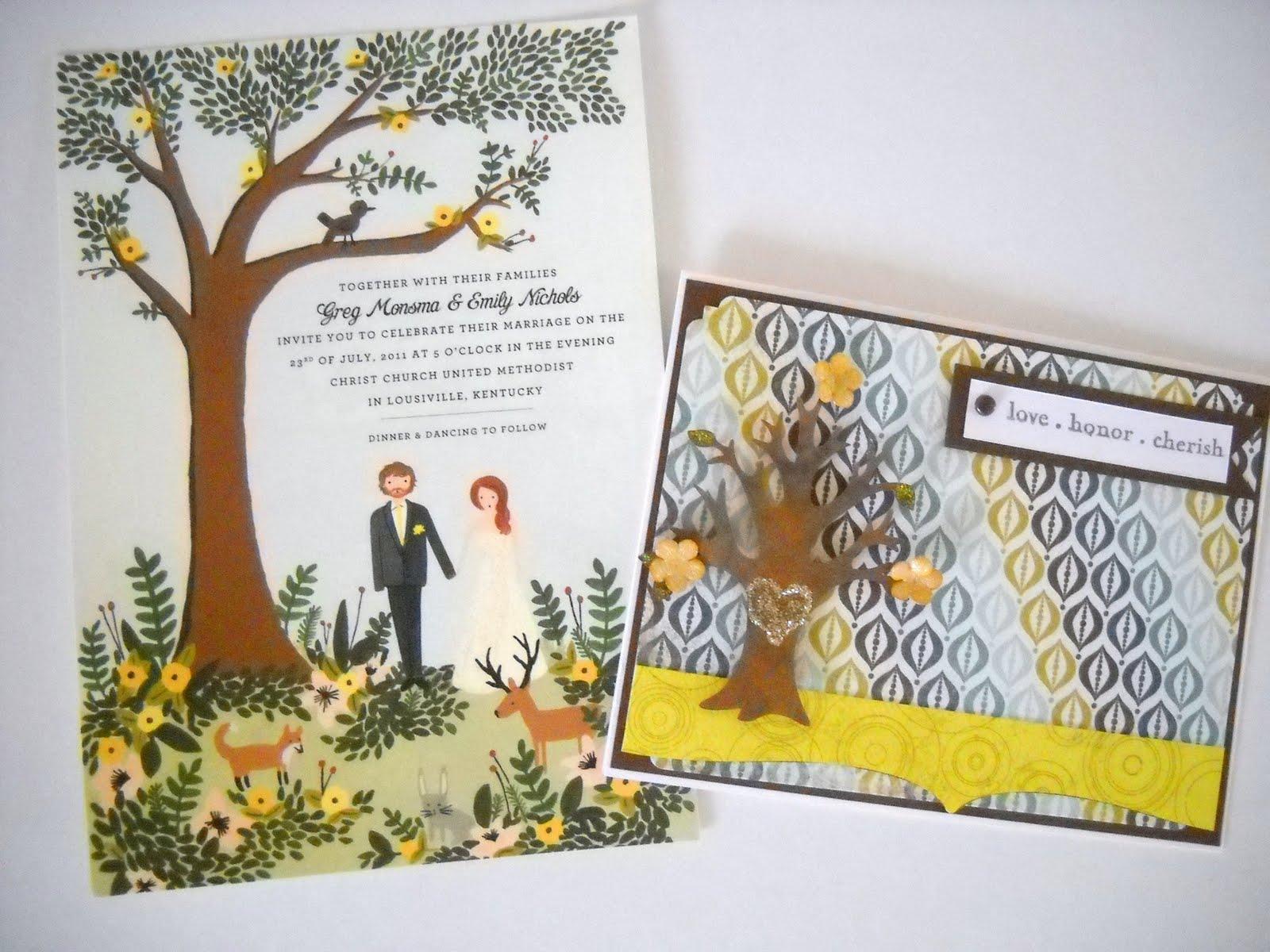 A Wedding Card with Invitation