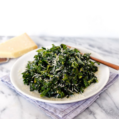 Massaged Kale Salad with Shaved Parmesan