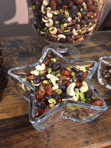 signature spice mixed nuts - Little House Lovely - Festive Food