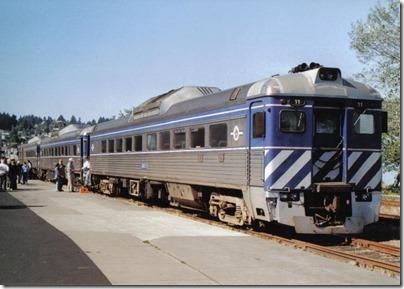 Lewis & Clark Explorer at the Astoria Depot on September 24, 2005