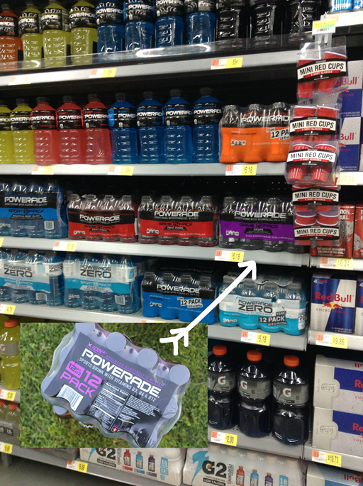 POWERADE at Walmart