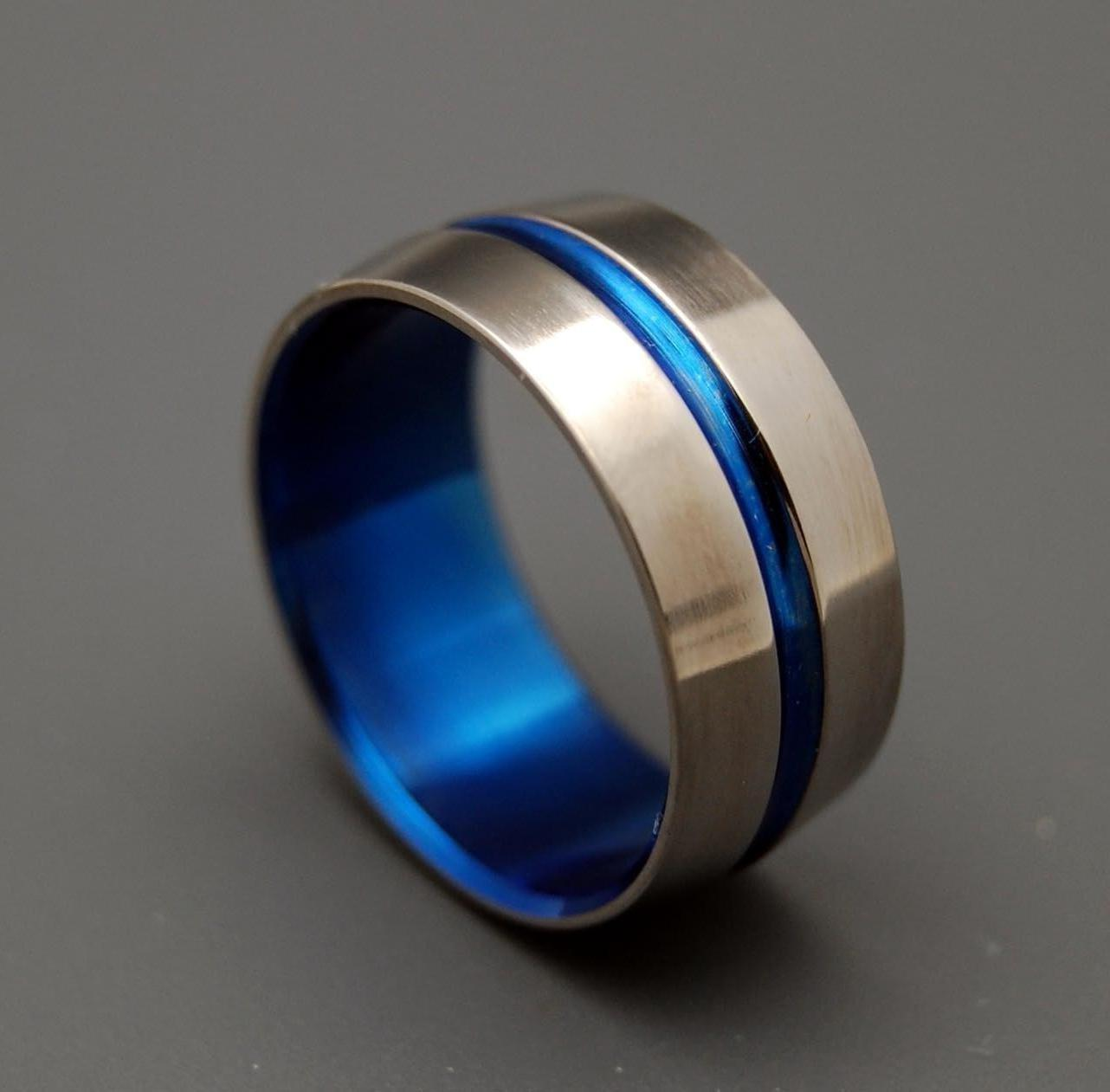 mens black wedding bands