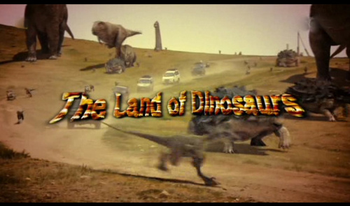 Ziemia dinozaurów / The Land of Dinosaurs (2009) PL.TVRip.XviD / Lektor PL