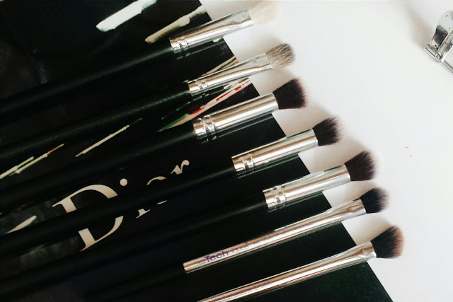 favourite eye brushes, drugstore brushes