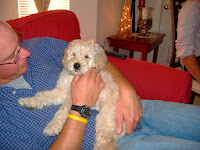 Gorgeousdoodles family love dog.