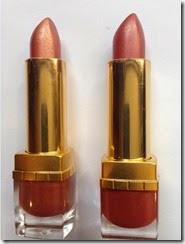 Estee Lauder Tiger Eye and Sugar Honey Shimmer Lipsticks