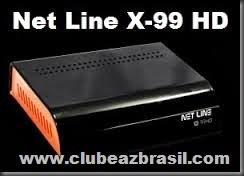 Nova Atualização Netline X99HD