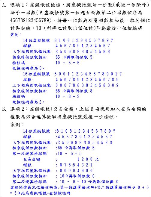 ATM Encoding