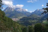 Von Agordo zum Passo di Cereda (1369m).