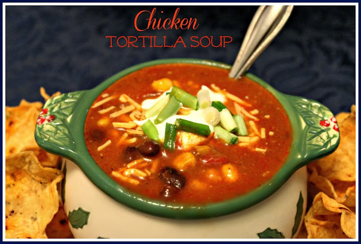 Slow Cooker Chicken Tortilla Soup! Recipe | Yummly