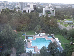 Addis Hilton swimming pool