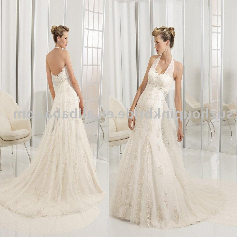 See larger image: 2011 Stunning Mermaid halter Lace wedding dress