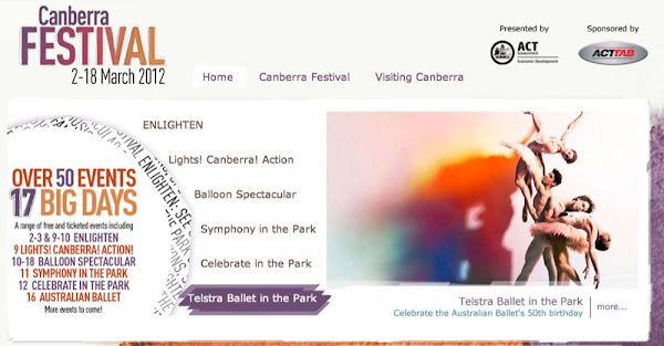 canberra festival screenshot