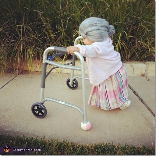 disfraz de anciana