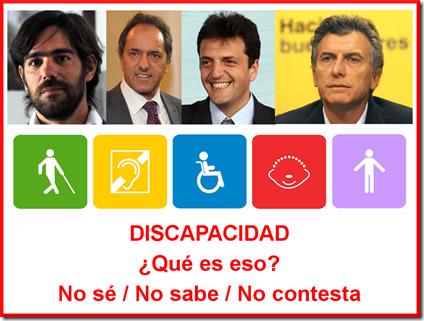 Elecciones 2015 - Discapacidad
