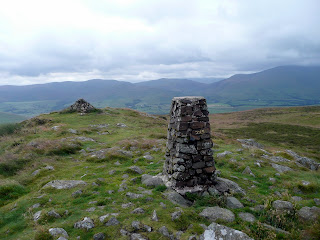 Binsey Trig Point and Summit Cairn