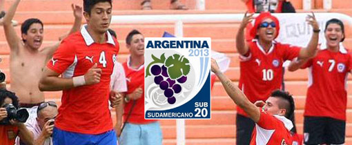 Chile vs. Uruguay - Sudamericano Sub 20 en Vivo - CMD