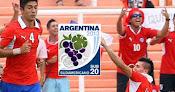 Chile vs. Uruguay - Sudamericano Sub 20 en Vivo - CMD